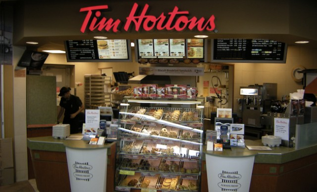 tim hortons design of goods services Tim horton's history tim horton was a canadian hockey player who opened his own doughnut shop in hamilton, ontario in 1964 the initial menu included a few specialties dishes from his culinary ideas and over the years tim horton's menu has grown immensely.