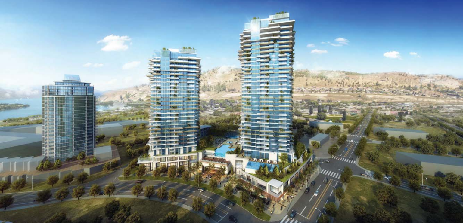 Construction Begins On Towers Okanagan Edge